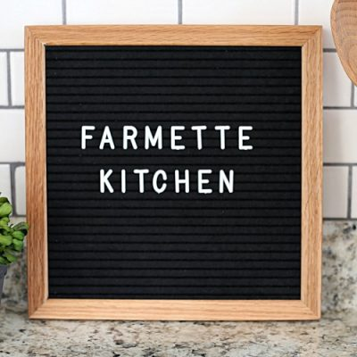 Welcome to the Farmette Kitchen: a food and lifestyle blog