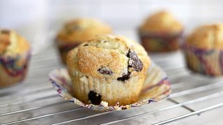 Small Batch Chocolate Chip Muffins