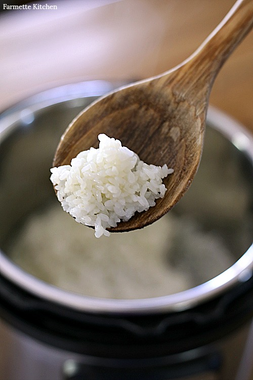 spoonful of sticky rice