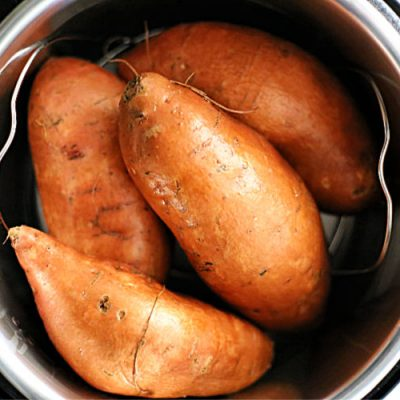 Pressure Cooker Sweet Potatoes – Two Ways
