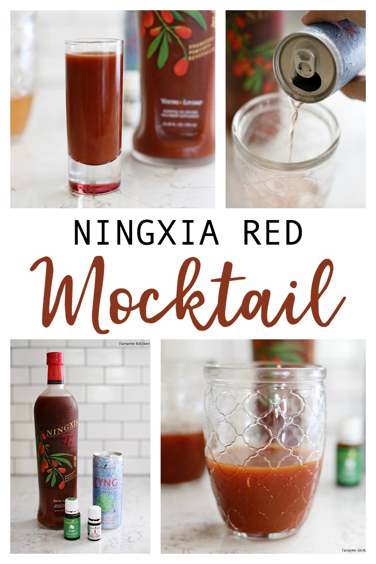 This sweet and tangy NingXia Red Mocktail with added NingXia Zyng and essential oilsis packed with superfoods to support overall wellness. It's the perfect mood booster or afternoon pick-me-up!