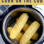 Instant Pot Corn on the Cob - the easiest way to make corn on the cob! Tender and juicy corn on the cob that cooks in two minutes and is full of flavor.