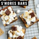S'mores Bars are all the deliciousness without all of the mess. Forget the open fire with this perfect make-ahead treat for your next summer gathering or camping trip.