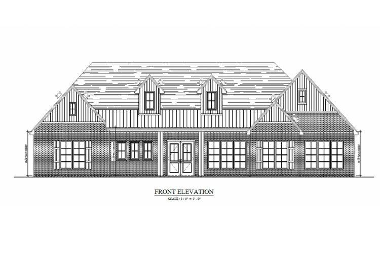 schematic of exterior home