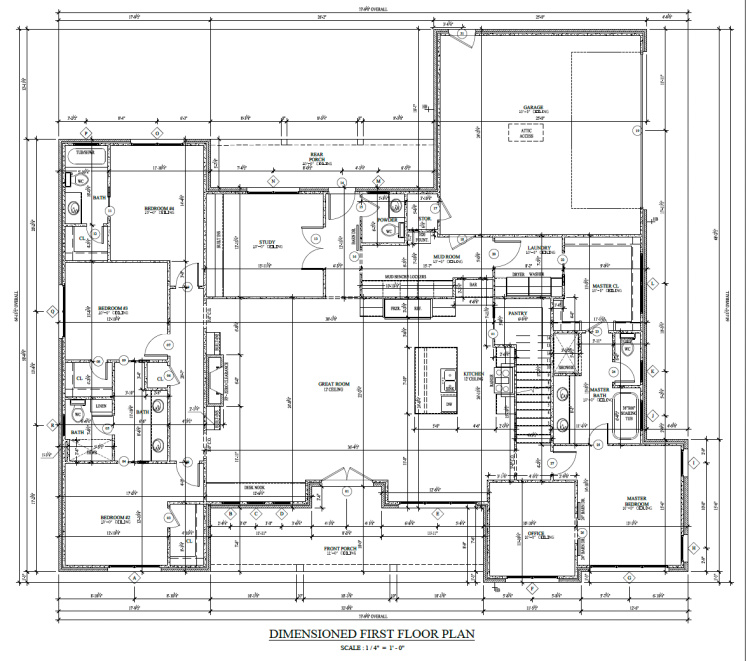 floor plan schematic