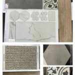 different flooring options in a collage